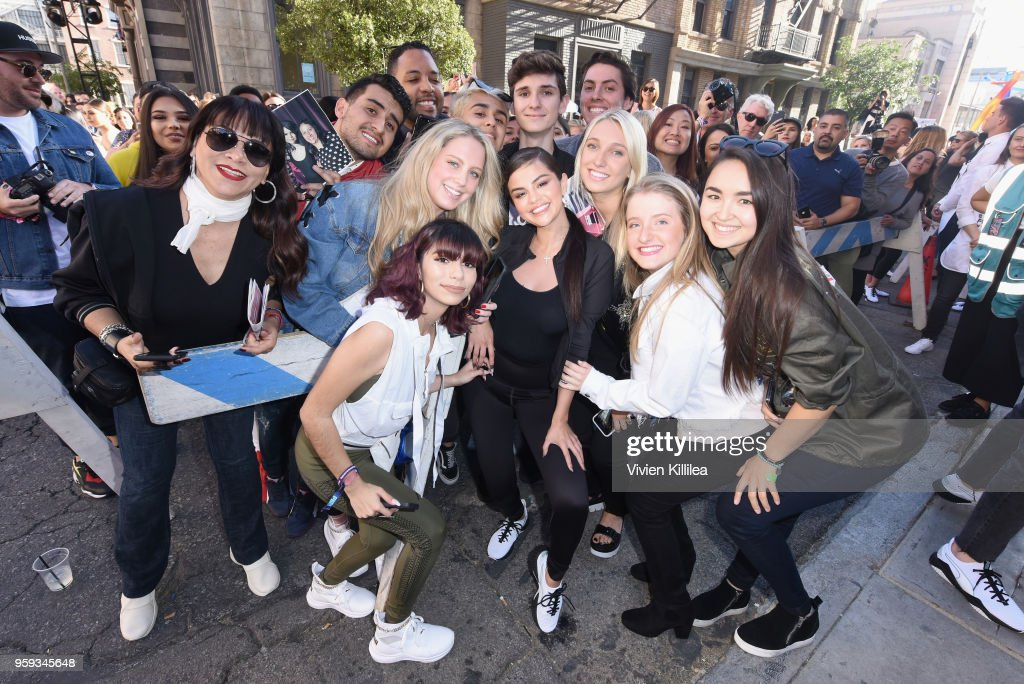 b991dd229b6e62 Selena Gomez visits PUMA Defy City to celebrate launch of PUMA Defy ...