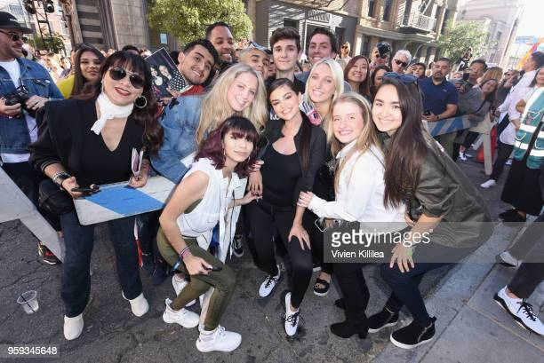 Selena Gomez visits PUMA Defy City to celebrate launch of PUMA Defy at Paramount Studios on May 16 2018 in Los Angeles California