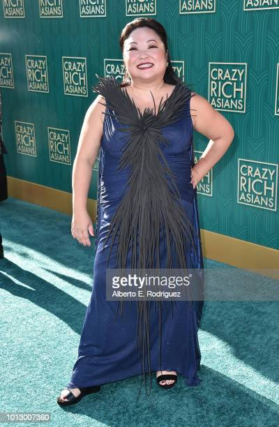 """Selena Tan attends the premiere of Warner Bros. Pictures' """"Crazy Rich Asiaans"""" at TCL Chinese Theatre IMAX on August 7, 2018 in Hollywood, California."""
