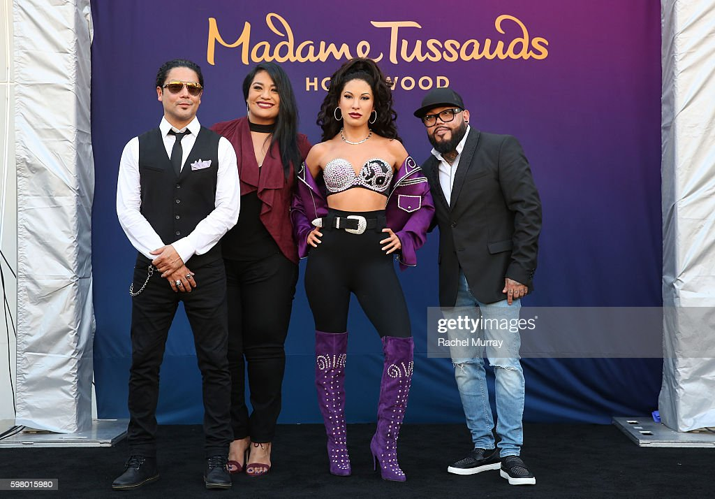 Madame Tussauds Hollywood Unveils GRAMMY Award Winner And Cultural Icon Selena Quintanilla In Wax : News Photo