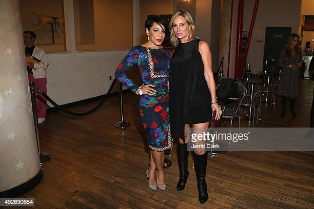 Selenis Leyva and Sonja Morgan attend Sir Ivan's Kick Off of Transgender Awareness Campaign with a special screening of a new documentary titled SIR...