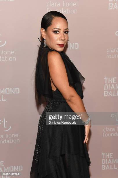 Selenis Leyva attends Rihanna's 4th Annual Diamond Ball benefitting The Clara Lionel Foundation at Cipriani Wall Street on September 13 2018 in New...