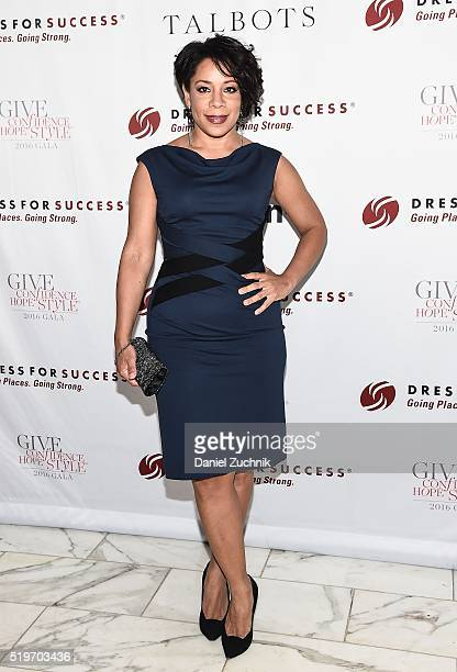 Selenis Leyva attends the 2016 Dress For Success Give Confidence Hope Style Gala at Grand Hyatt New York on April 7 2016 in New York City