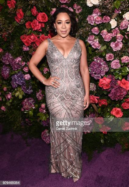 Selenis Leyva attends the 2018 Maestro Cares Gala at Cipriani Wall Street on March 8 2018 in New York City
