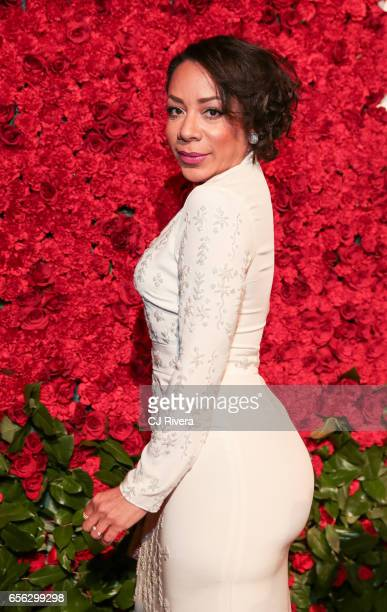 Selenis Leyva attends the Maestro Cares Foundation's Fourth Annual Changing Lives/Building Dreams Gala at Cipriani Wall Street on March 21 2017 in...
