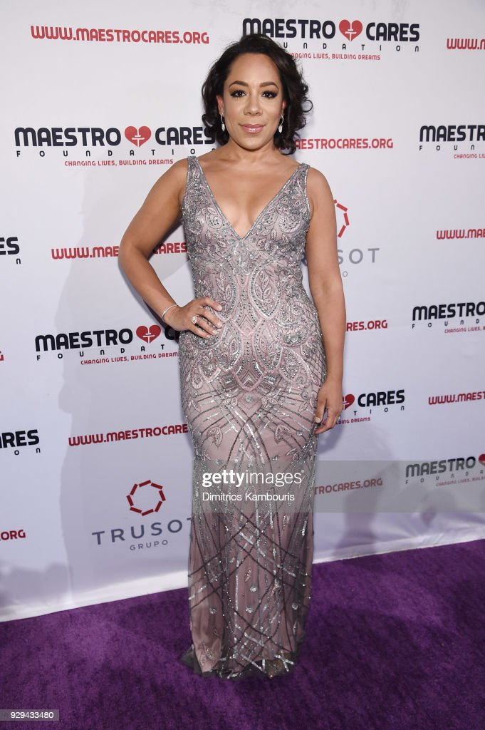 Selenis Leyva attends the Maestro Cares Third Annual Gala Dinner at Cipriani Wall Street on March 8, 2018 in New York City.