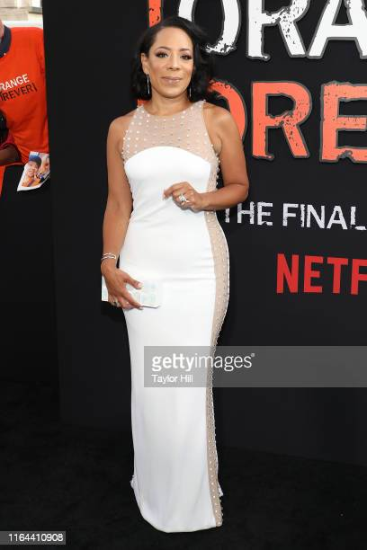 """Selenis Leyva attends the """"Orange is the New Black"""" final season world premiere at Alice Tully Hall, Lincoln Center on July 25, 2019 in New York City."""