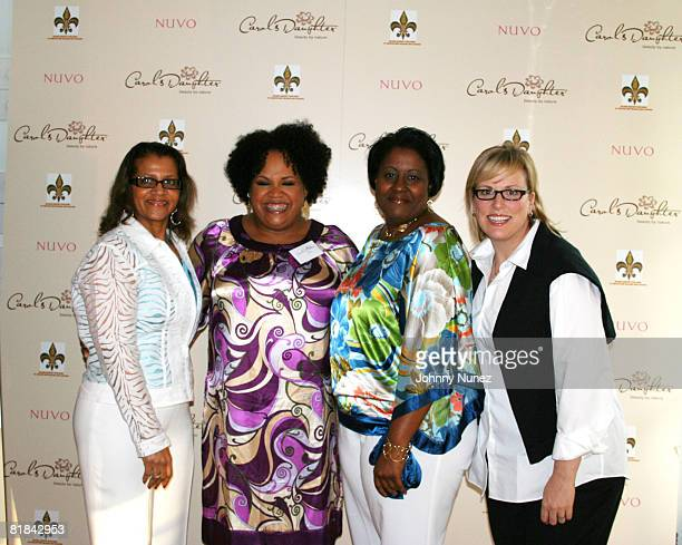 Seletha Smith Nagin Lisa Price Candice Washington and Ali James attend the charity shopping event at Carol's Daughter at the 2008 Essence Music...