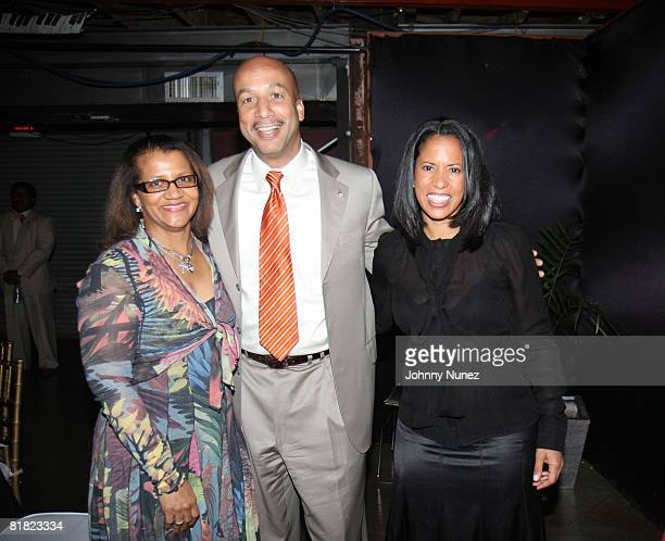 Seletha Smith Nagin Ray Nagin and Michelle Ebanks attend the Mayor's Dinner at Generation Hall on July 3 2008 in New Orleans