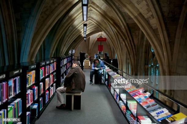 Selexyz bookstore in a former Dominican church in Maastricht.