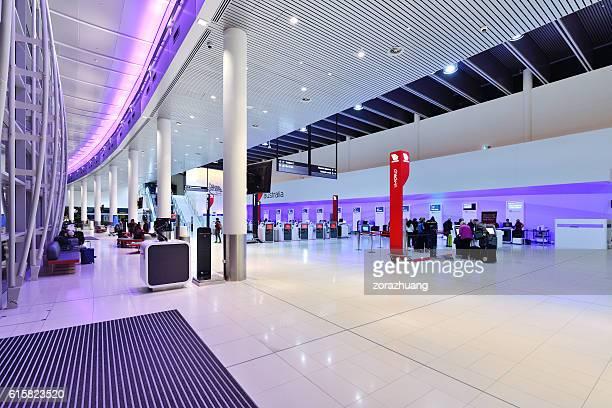 Self Airport Check-In Facility