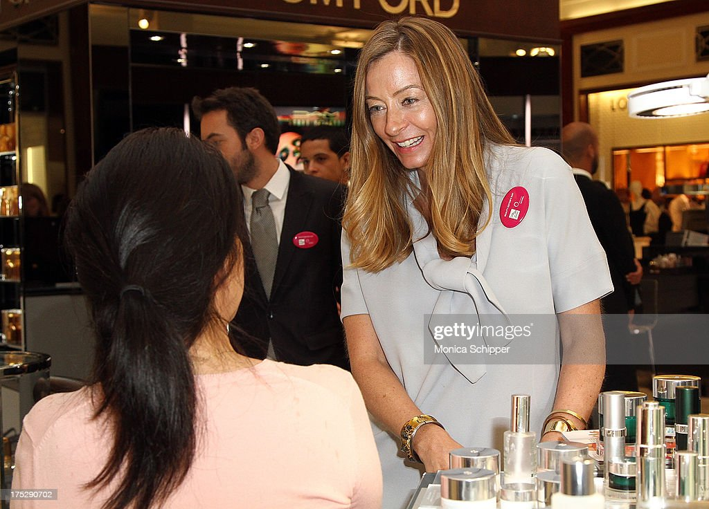 Self beauty director, Elaine D'Farley, attends Second Annual Beauty Editors Day At Saks Fifth Avenue on August 1, 2013 in New York City.