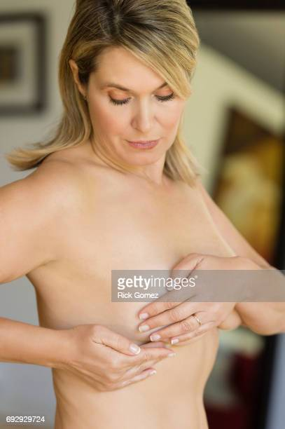 Self Breast Exam for woman in her 50's.