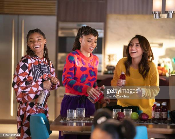 """Self Care"""" - Zoey and her girls head to the Johnson family home in Sherman Oaks for a weekend of self-care and detoxing . But Zoey soon learns that..."""