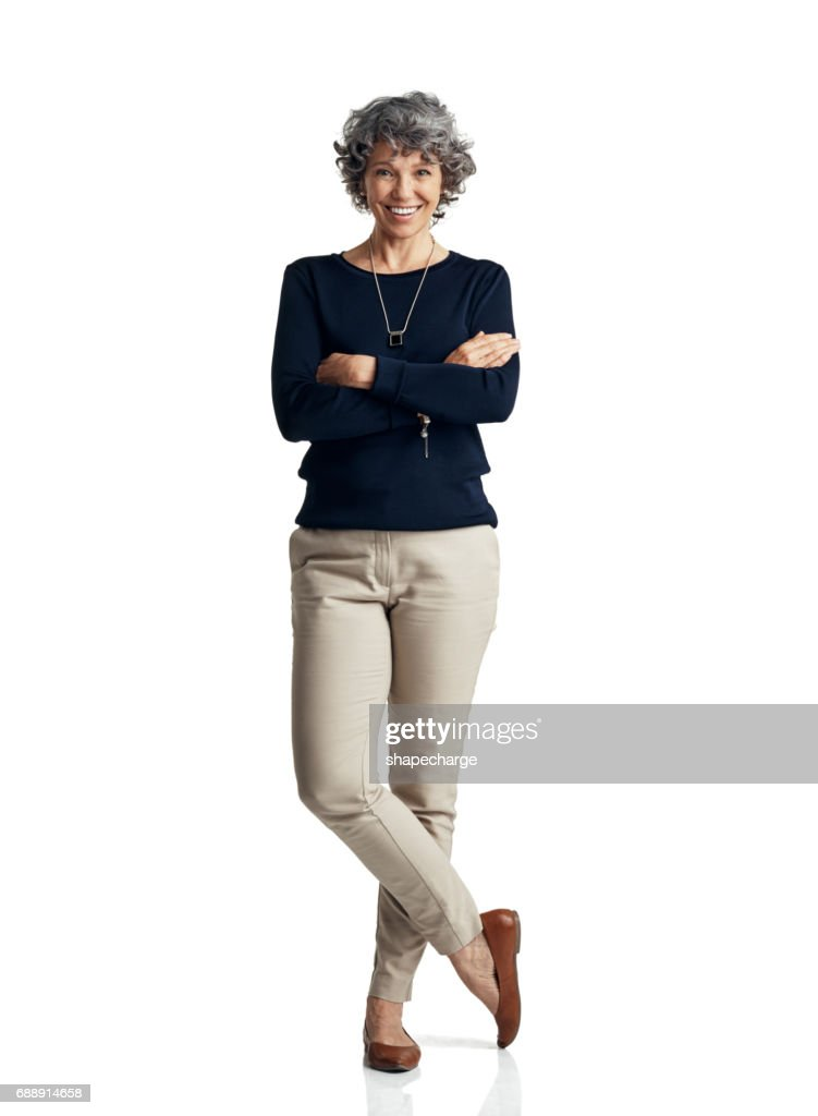 Self confidence is the pillar of a strong personal presence : Stock Photo