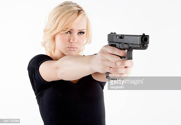 sem defesa com uma arma - armamento - fotografias e filmes do acervo
