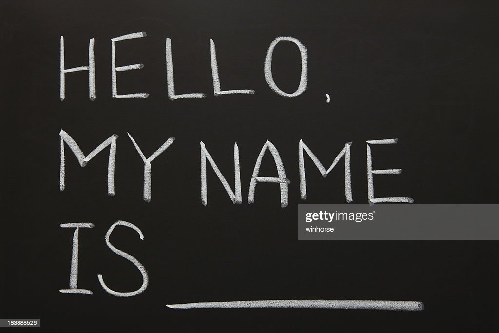Self Introduction Stock Photo | Getty Images