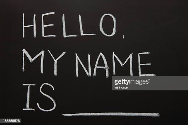 self introduction - identity stock photos and pictures