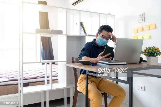self isolating at home. - unemployment stock pictures, royalty-free photos & images