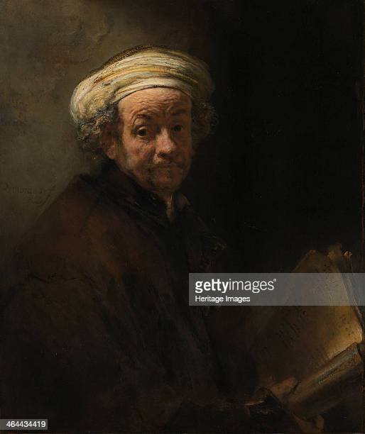 Self Portrait as the Apostle Paul ca 1661 Found in the collection of the Rijksmuseum Amsterdam