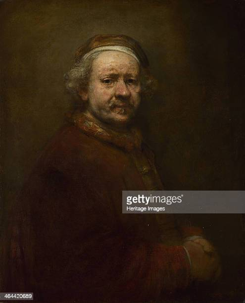 Self Portrait at the Age of 63 1669 Found in the collection of the National Gallery London