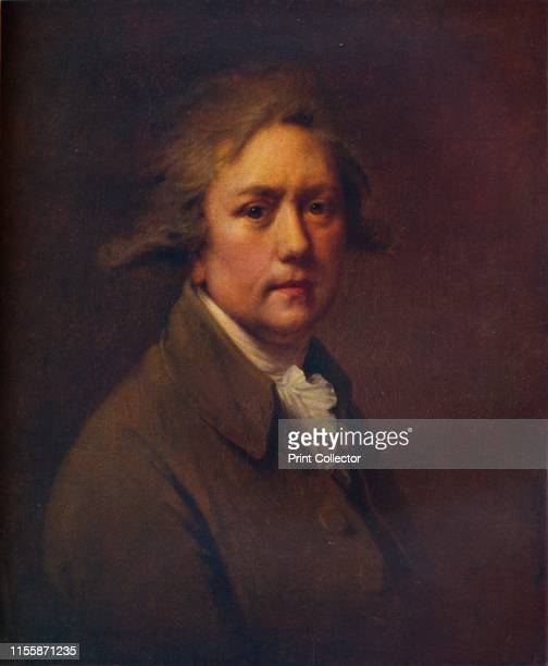 Self Portrait at the Age of about Fifty' circa 17821785 Self portrait by British painter Joseph Wright of Derby Painting in the National Portrait...