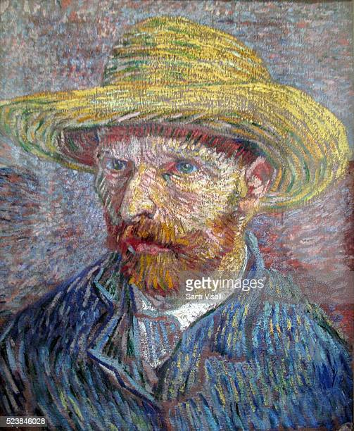 Self Portrait by Vincent van Gogh at the Met on March 9 2016 in New York New York