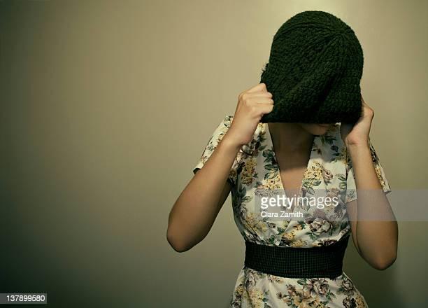 Self portrait girl