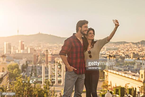 Autoportrait à Barcelone