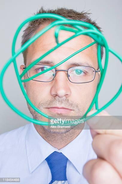 Self portrait man, Science