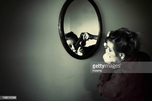 self portrait - self portrait photography stock pictures, royalty-free photos & images