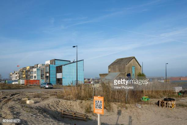 Selfbuild houses with existing infrastructure Zeeburgeiland Amsterdam Zelfbouw series extras Various Netherlands Architect various 2015