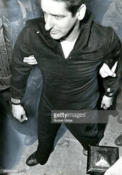 Selfconfessed Boston Strangler Albert DeSalvo after escaping from Bridgewater State Hospital and his subsequent capture Feb 25 1967