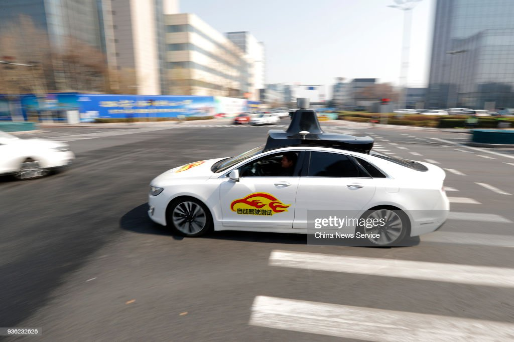 Baidu Gets Temporary License Plates For Self-driving Car Tests