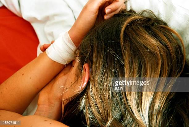 Selfharm News story on teenagers selfmutilation