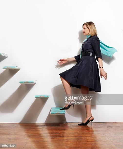Selfhelp guru Caroline Arnold is photographed for The Observer Magazine on January 7 2016 in New York City COVER IMAGE