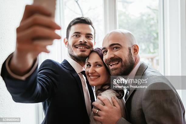 Selfie At Gay Wedding