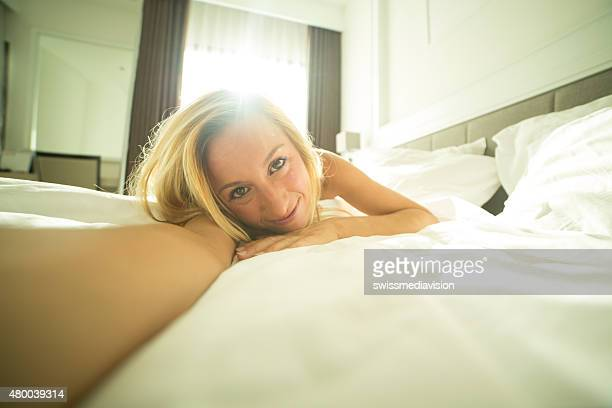 Selfie at morning wake up
