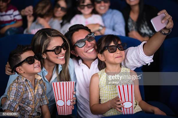 Selfie am Kino