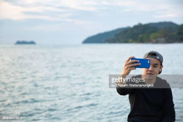 Selfie by the Sea