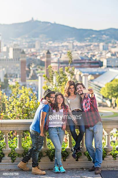 Selfie in Barcelona