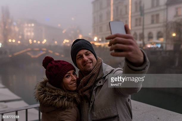 Selfie in Christmas's time