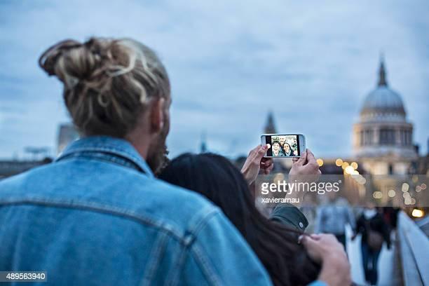 Selfie in London