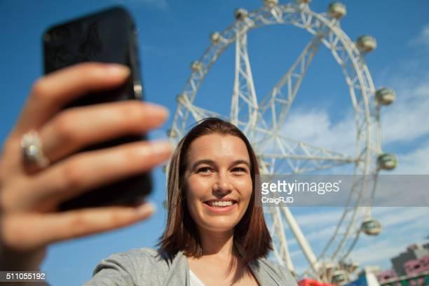 Selfie in Melbourne