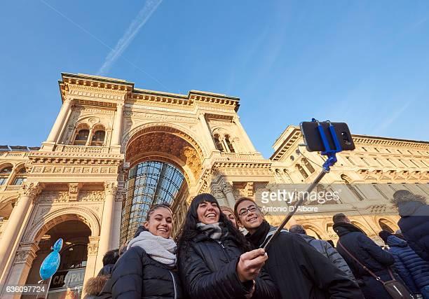 Selfie in Milan