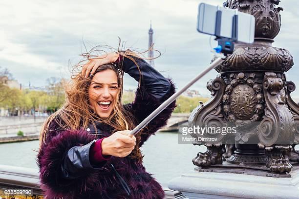 Selfie a Parigi