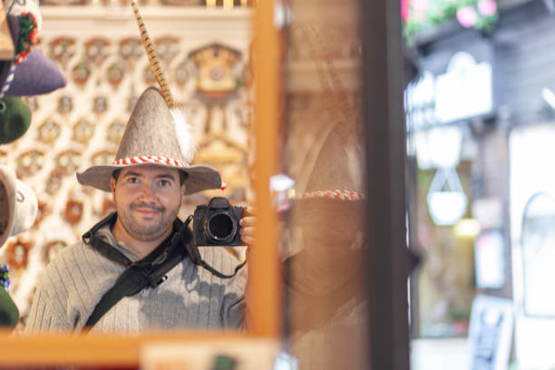 Selfie of photographer at the Oktoberfest