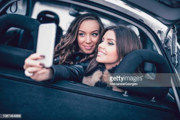 Selfie On The Backseat With My Sweetie