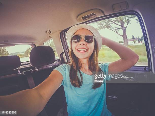 Selfie on the travel