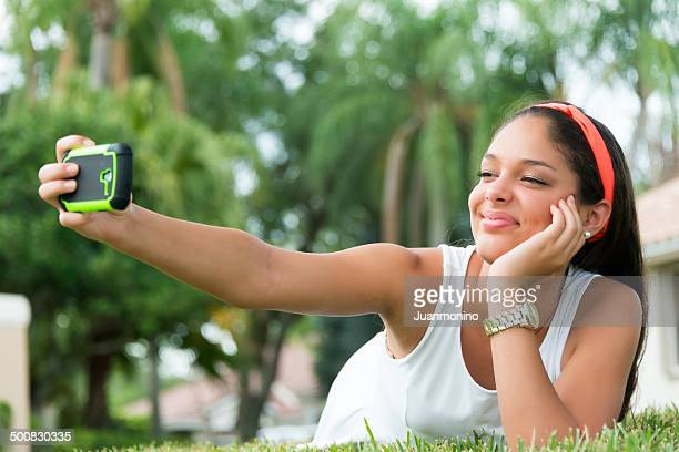selfie - dominican ethnicity stock photos and pictures